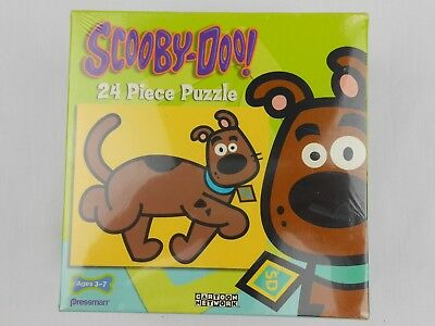 Scooby-Doo 24 Piece Puzzle Cartoon Network NEW NIB 2005 Pressman 4890