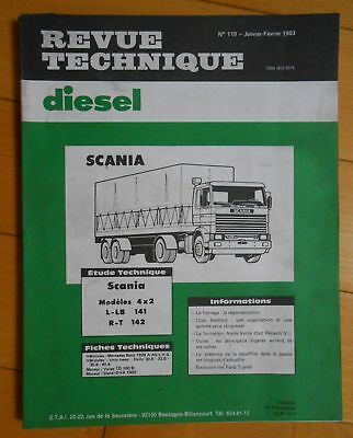 ►Revue Technique Camion - Scania 4X2 - L-Lb 141 // R-T 142 - 1983