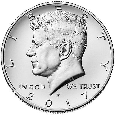 2017 KENNEDY HALF DOLLAR P or D MINT 1-COIN BRILLIANT UNCIRCULATED