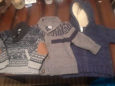 lot of 3 toddler boys sweaters