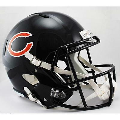 NEW Chicago Bears NFL Riddell Replica Speed Gridiron Helmet