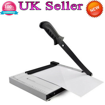 Heavy Duty Professional A4 Paper Guillotine Cutter Trimmer Home Office Tool GB