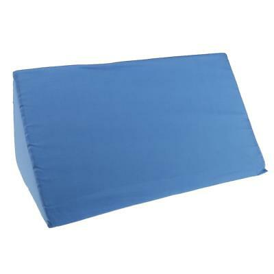Back Lumbar Support Foam Bed Wedge Pillow Elevation Cushion Washable Cover