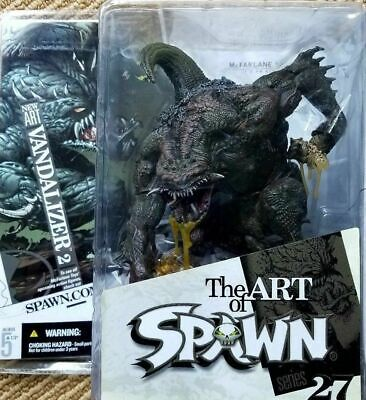The ART of SPAWN series 27: VANDALIZER 2 - McFarlane NUOVO NEW