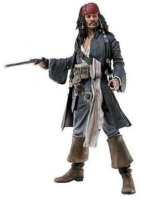 JACK SPARROW Action figure Pirati Caraibi Pirates of Caribbean 12'' NECA 30cm