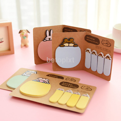 Self-Adhesive Mini Paper Diary Notes Memo Pad Notebook Mark Tab Sticky Notes fr
