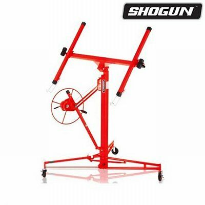 NEW 11ft-65KG Red Shogun Drywall Panel Lifter Plaster Board Lift, Solid Steel