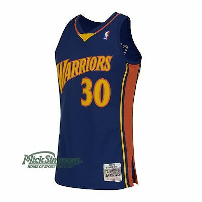 Golden State Warriors Stephen Curry 2009-10 Hardwood Classics Road Jersey by ...