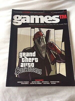 GRAND THEFT AUTO  - Games TM Magazine no 24