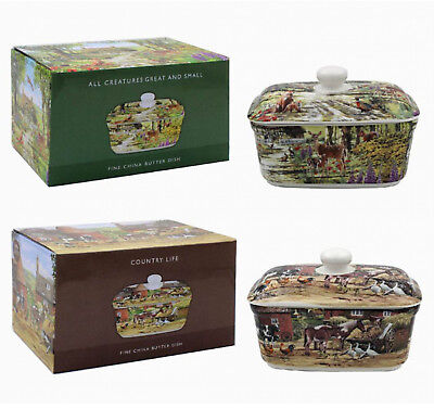 Butter Dishes Countryside or Farm Designs China Butter Dish