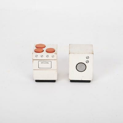 Dolls House Cooker and Washing Machine