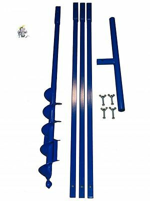 Well Drilling Auger Set 4M 130mm