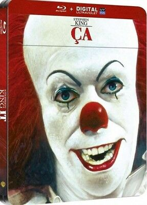 Blu ray steelbook ÇA (Stephen King's IT) édition Française New & Sealed NEUF