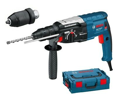 Bosch GBH 228 F1 880w SDS-Plus Hammer drill Quick Change Chuck in L-Boxx 240v