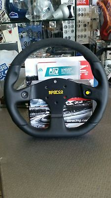 Sparco Steering Wheel Mugello Tuv Tuning Leather