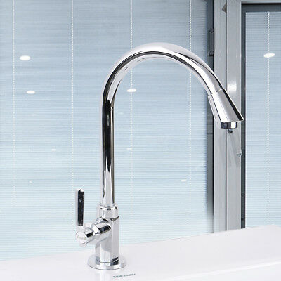 Stainless Steel 360 Swivel Basin Sink Kitchen Water Tap Faucet Bathroom Kitchen