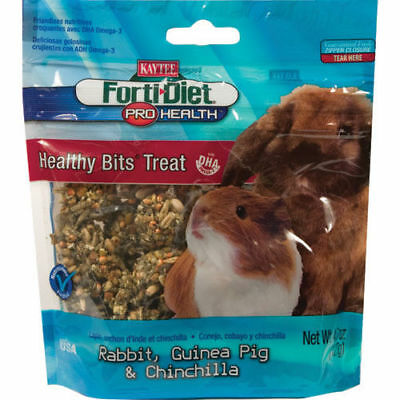 Forti-Diet Pro Health Healthy Bits Treats for Rabbits, Guinea Pigs & Chinchillas