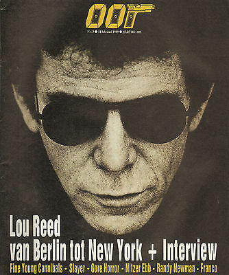 MAGAZINE OOR 1989 nr. 03 - LOU REED / SLAYER / DEAD CAN DANCE / NITZER EBB