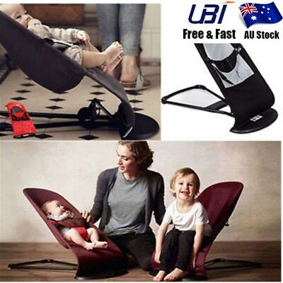 Safty Newborn Baby Support Soft Toddler Rocking Balance Folding Chair Bouncer X1