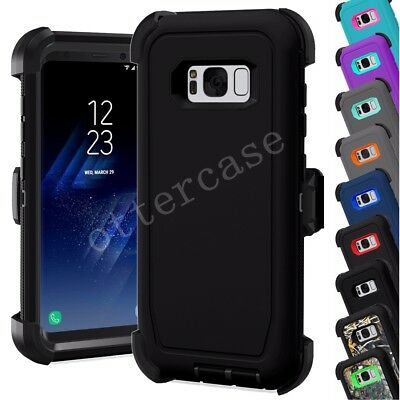 For Samsung Galaxy S6 S7 Edge S8 Plus (Belt Clip fits Otterbox Defender Series)