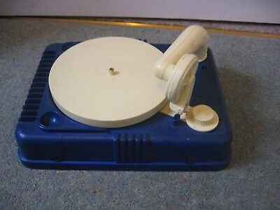 Vintage Marx Battery Operated Toy Gramophone Record Player - Spares or Repair