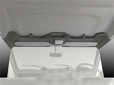 DA4629 Land Rover Defender 1983 Onwards Roof Console by MUD Grey