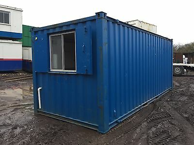 Site Office Canteen 20ft by 8ft Anti Vandal Steel (More Available)