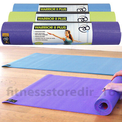Fitness Mad WARRIOR YOGA MAT II 6mm - Phthalate Free 6ft Long - Pilates Exercise