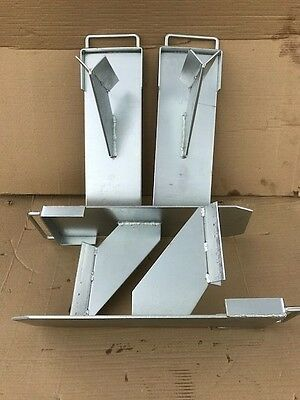 6 x Genuine Strong Acro Prop, Attachment Boys Mate Wall Support Acrow Bracket