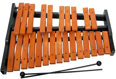 25 note wooden XYLOPHONE by Atlas. 2 Octave, natural wood bars. At Hobgoblin