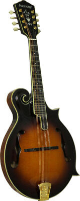 Ashbury AM-520 F-Style BLUEGRASS MANDOLIN, Carved spruce top, curly maple body.