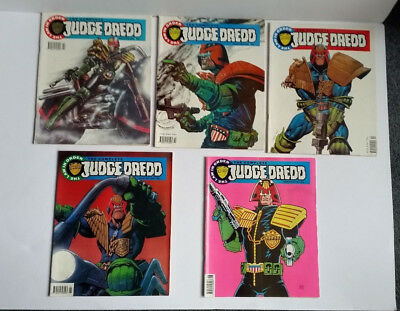 The Complete Judge Dredd Comics 1992 - The Law In Order Issues 1 to 5