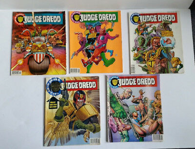 The Complete Judge Dredd Comics 1992 -The Law in Order - Issues 6 to 10