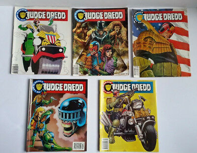 The Complete Judge Dredd Comics 1992 to 1993 - The Law in Order Issues 11 to 15