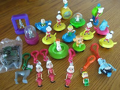 Lot of over 20 Jetsons Toys 1990's Hanna-Barbera