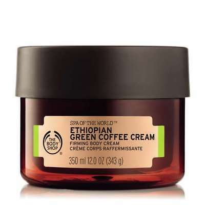 Vegetarian The Body Shop Spa of the World Ethiopian Green Coffee Firming Body Cr