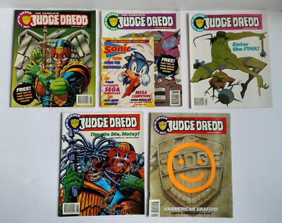 The Complete Judge Dredd Comics 1993 - The Law in Order Issues 16 to 20