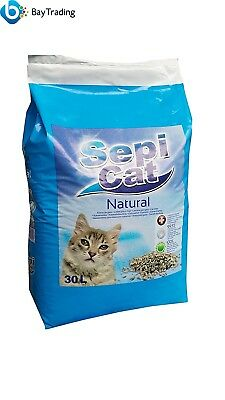 Sepicat Lightweight Non Clumping Cat Litter, 30 L * Brand NEW Fast Delivery