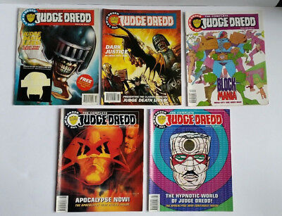 The Complete Judge Dredd Comics 1993 -1994 - The Law in Order Issues 21 to 25
