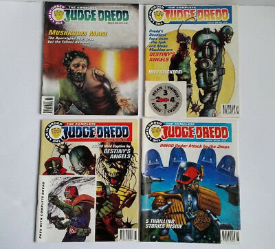 The Complete Judge Dredd Comics 1994 - The Law in Order Issues 26 to 29