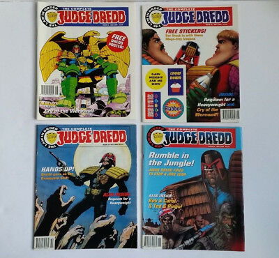 The Complete Judge Dredd Comics 1994 - The Law in Order Issues 31 to 34