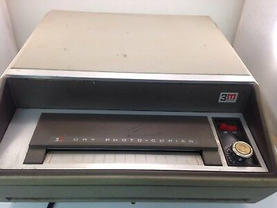 Vintage 3m Dry Photo-copier Model 76 Ag