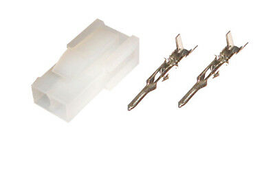 2x2 Female Power Connector Plug 4.2mm Pitch 5557 4-Pin Crimp Contact Pin x 20