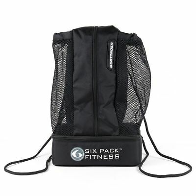 6 Pack Fitness Contender Stealth ONE Meal Mesh Backpack New #5