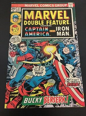 Marvel Double Feature  # 13 Cents Issue Captain America & Iron Man  BRONZE