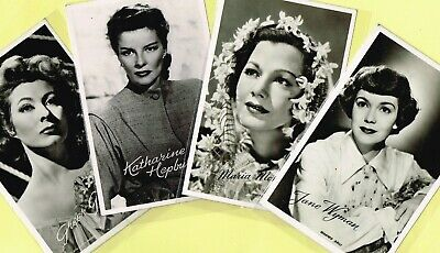 TAKKEN - 1950s Film Star Postcards issued in Holland #3197 to #3288