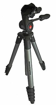 Manfrotto Compact Advanced Tripod - Black - Unit And Bag Only - VG