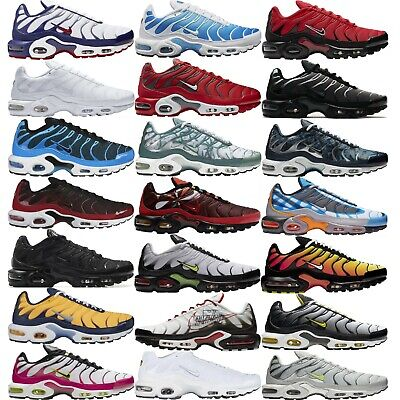 2babaca386 NIKE AIR MAX PLUS Tn Tuned Air MEN'S PREMIUM SNEAKERS LIFESTYLE COMFY SHOES