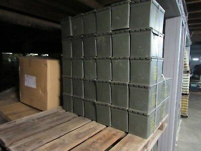 50 Cal Ammo Can Army Military M2A1 Metal Storage 5.56