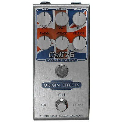 Origin Effects Cali76 Compact Deluxe Limited Union Jack Edition Compressor Pedal